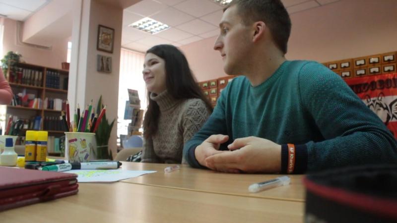 Artjom und Darija haben über Georgien und Joga erzählt VindobonaCamp 27.01.2018