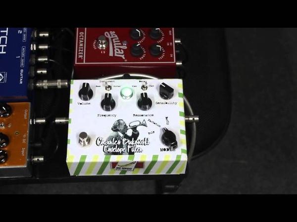 MG Music Charles Bukowski Envelope Filter bass demo