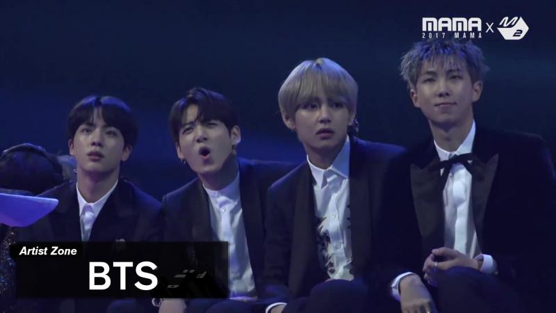 [2017MAMA x M2] BTS Reaction to SUNMI TAEMIN's Performance_MOVE