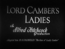 Lord Camber's Ladies (1932) Gerald du Maurier, Gertrude Lawrence, Benita Hume, Nigel Bruce