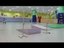 Богдана 5 лет прыжок High jump 180 градусов - 65 см