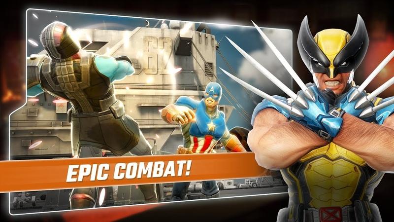 Marvel Strike Force 3 получаем осколки Росомахи и проходим испытания!
