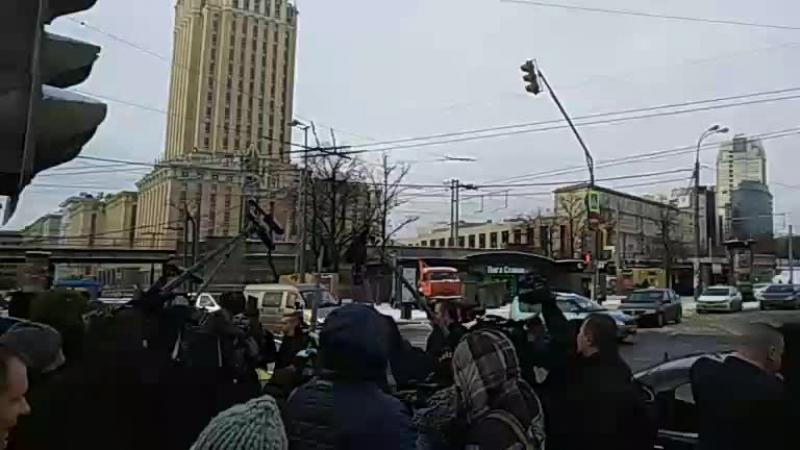 Владимир Жириновский. Посещение Казанского вокзала