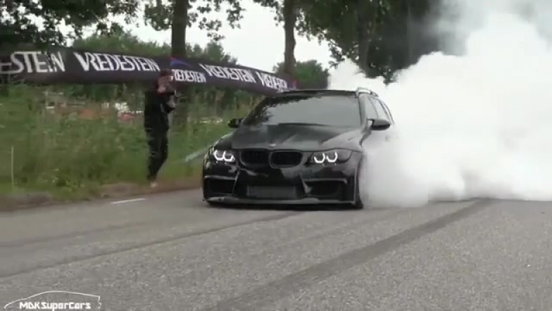 BMW Blacked out Single Turbo N54 E91 335i