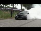 BMW Blacked out Single Turbo N54 E91 335i