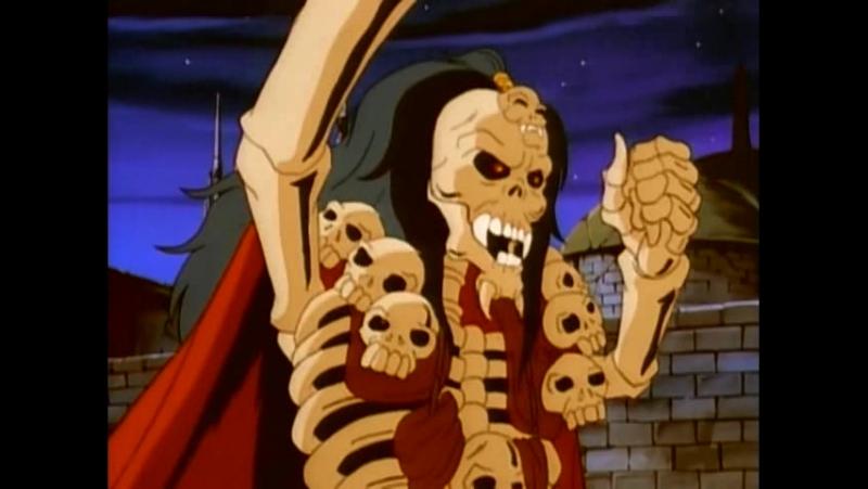 Воины - скелеты 1994 Серия 3 - Сердце и душа / Сербин VHS