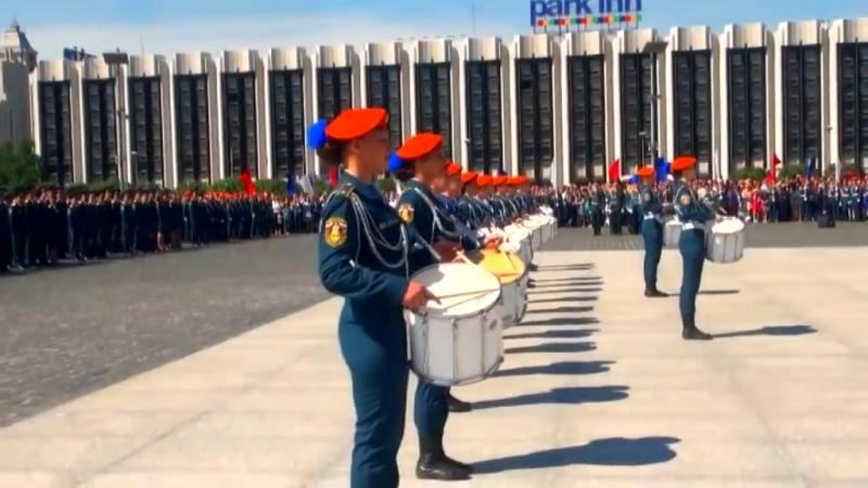 Выпуск молодых специалистов СПб УГПС МЧС России 2015