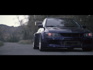 Widebody evo 9 nitto ¦ clinched flares