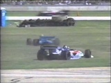 INDY CLEVELAND 1995 ACIDENTE DE ROBBY GORDON E JACQUES VILLENEUVE
