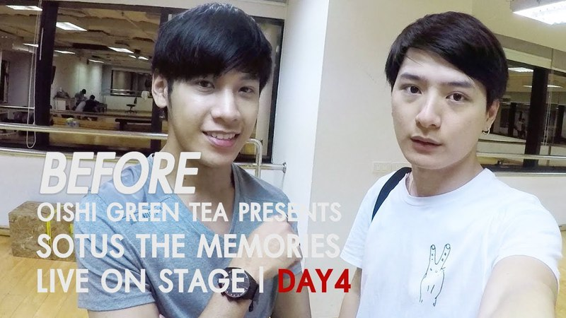 BEFORE OISHI Green Tea presents SOTUS THE MEMORIES LIVE ON STAGE DAY 04