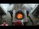 Технология плавки камня храма Рамаппа. Индия.