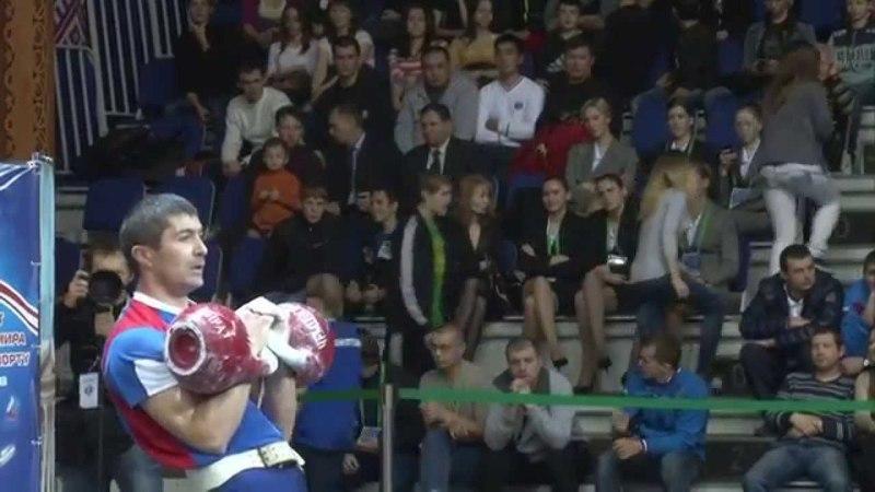 Kettlebell World Championship 2013 (Russia) wc 68kg (JERK)