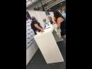 Дрю Пауэлл и Шон Пертви Дрю Пауэлл на конвенции Heroes and Villians Fan Fest в Лондоне 26 05 2018