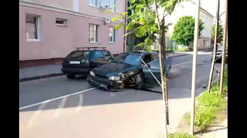 Калининградская авария движение затруднено.