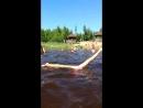 Гимнастка купается