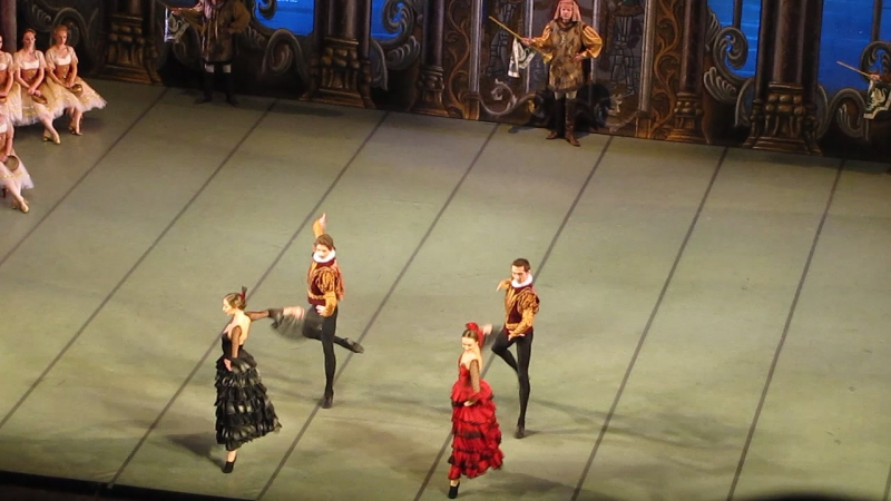 Одесский национальный академический театр оперы и балета. Лебединое озеро
