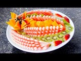 Sliced Watermelon Plate | Do it Yourself - 4K video