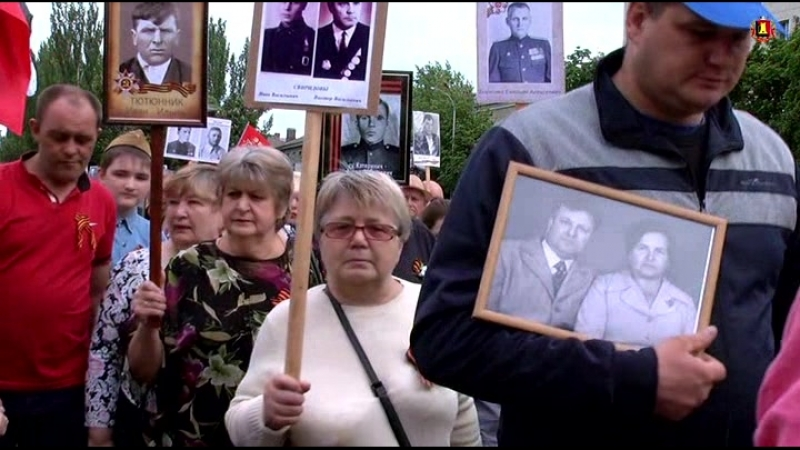 9 мая 2018 Площадь Ленина. Митинг у мемориала Вечный огонь