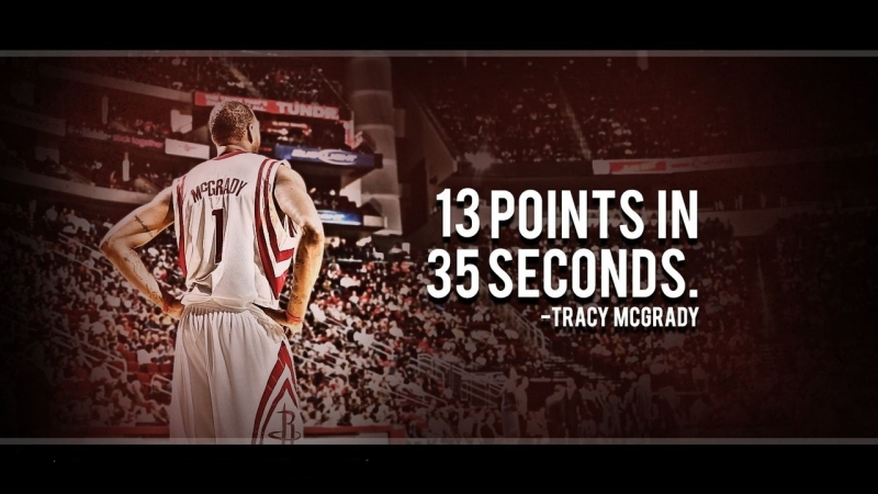 Tracy McGrady | 13 points in 35 seconds | December 9, 2004