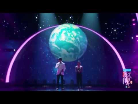Dimash Димаш duet Tia - We Are The World 非常棒