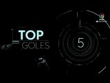 Чемпионат Испании 2017-18 / Лучшие голы 24-го тура / Топ-5 [HD 720p]
