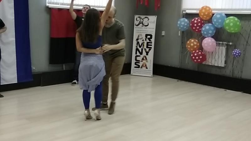 Yakov Liza Bachata fusion Ryazan
