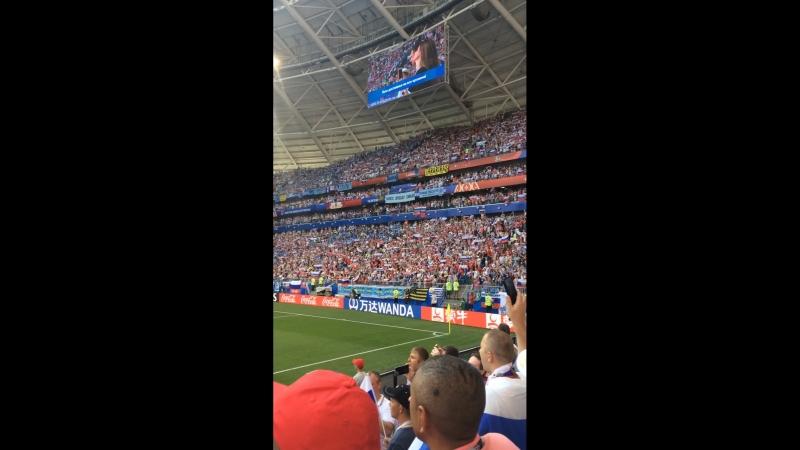 Чемпионат мира Россия Уругвай Момент патриотизма До мурашек пробирает