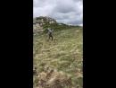 13 Мая 2018 года... Поднимаясь на вершину Чатыр - Дага...