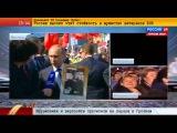 Путин с портретом отца принял участие в шествии Бессмертного полка