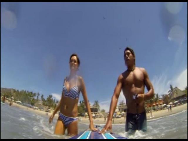 Каникулы в Мексике. Суперигра. Сёрфинг