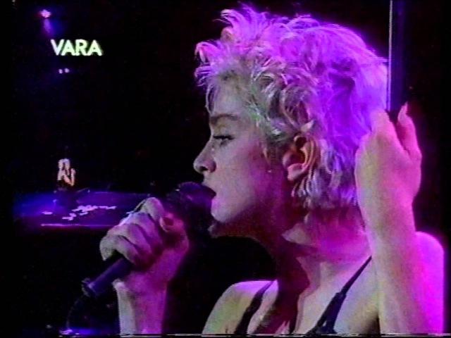 Madonna - Live to Tell [Turin 1987, Dutch TV] HQ