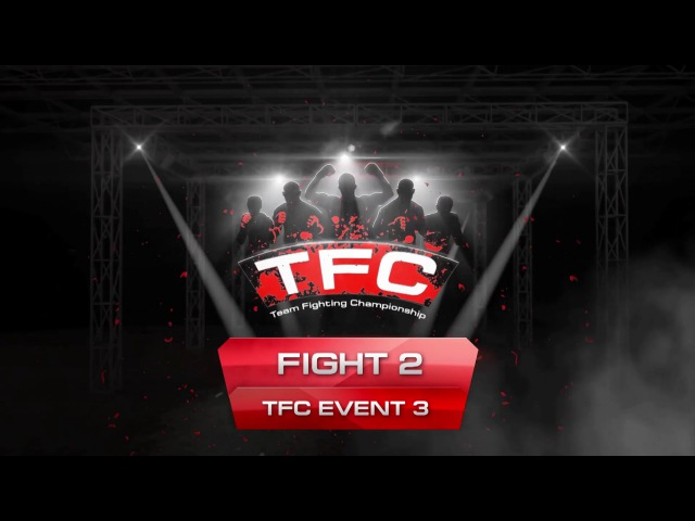 Fight 2 of the TFC Event 3 Brawlers London UK vs Ground and Pound Sao Paulo Brazil
