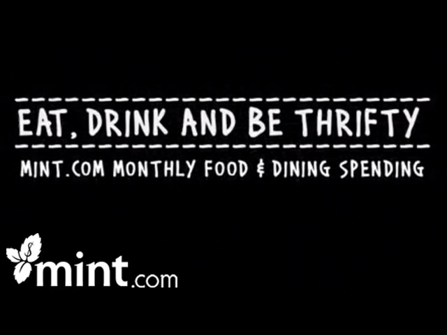 Eat Drink and Be Thrifty Track Your Spending With Mint Personal Finance Software