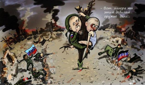 Между бандами луганских террористов вспыхнул конфликт из-за секретной базы. В ход пошли танки, - Тымчук - Цензор.НЕТ 6537