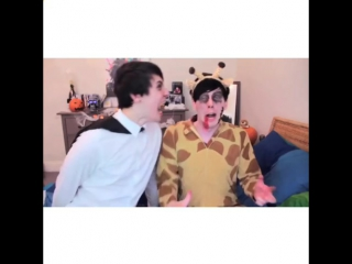 Dan Howell and Plil Lester / Phan vine
