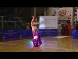 Weronika SAHAR Litwin - KM Polski IDO w Belly Dance 2013, 1-4 final