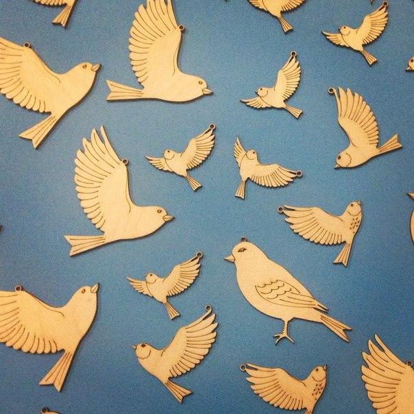 Птицы из фанеры