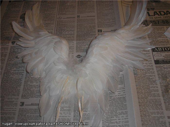 Крылья своими руками из бисера