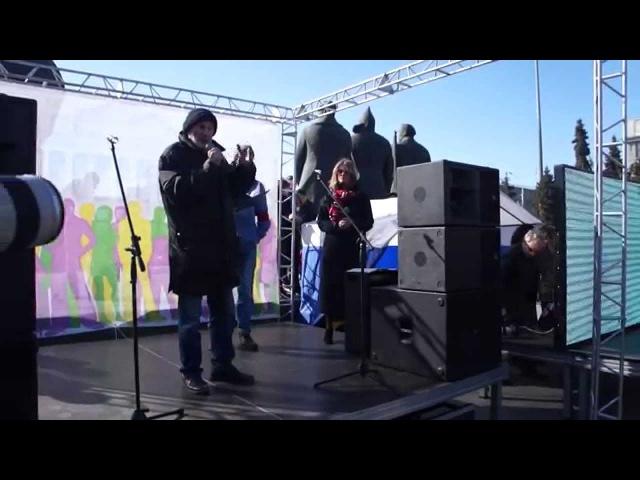 Митинг в поддержку Тангейзера. Часть 2. Выступление писателя Геннадия Прашкевича (Новосибирск)