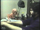 Up close look at the Baby Freddy Krueger Puppet - A Nightmare on Elm Street The Dream Child