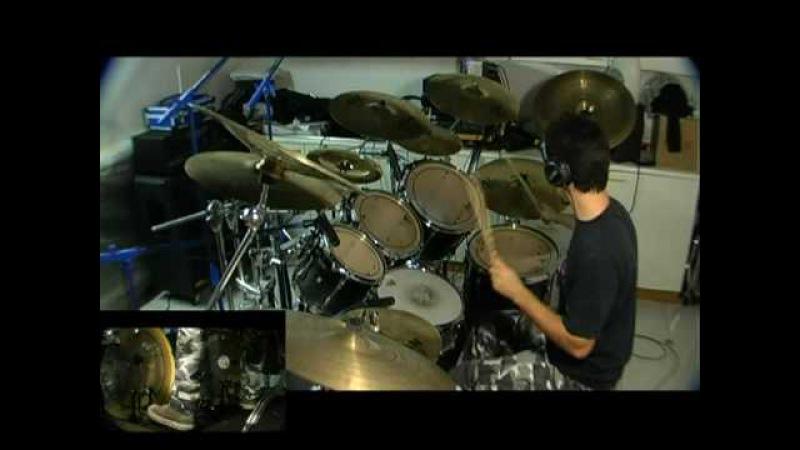 Death Spirit crusher (drum cover) Edoardo De Muro (Natrium drummer)