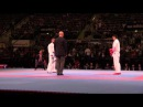 Luigi BUSA vs Ryuichi TANI, Gold medal fight Male Kumite -75kg. 2014 World Karate Championships