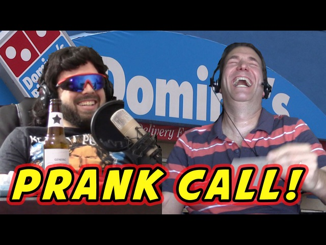 MediocreFilms - PRANKING DOMINOS PIZZA! (Three Halves phone call prank)