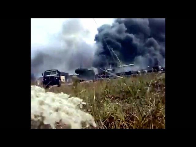 Грузия Осетия война 08.08.2008. Русские миротворцы под обстрелом