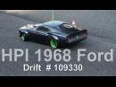 HPI Ford Mustang 1969 Drift 109300 RTR Sprint 2 Sport w/ 1969
