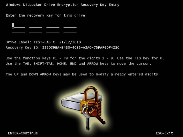 Cracking Bitlocker