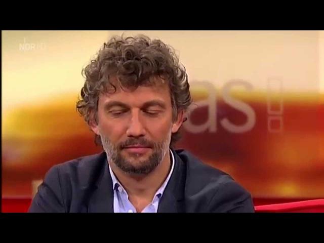 Jonas Kaufmann ~ Talk mit Bettina Tietjen in DAS! - T.1