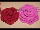 Вязание крючком для начинающих. Цветок РОЗА 2 Crochet for beginners. Flower rose 2