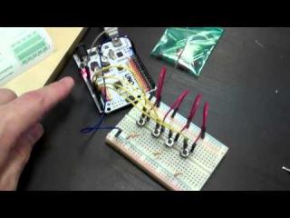 Коля рассказывает как собрать музыкальный синтезатор на Arduino