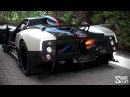 Pagani Zonda Cinque Roadster FLAMETHROWER!